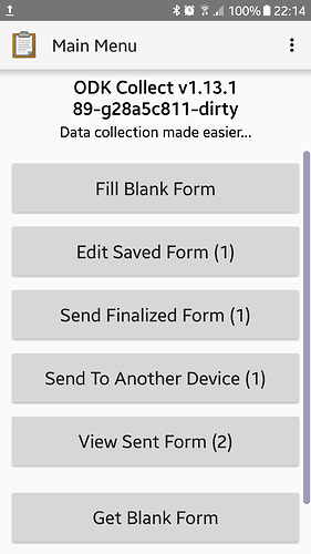 Internship project: Device to Device Transfer Android App