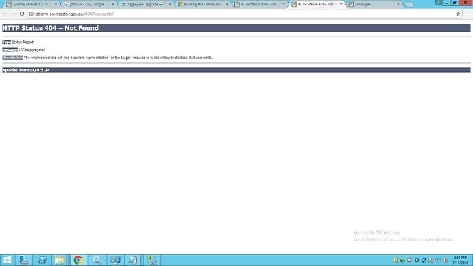 ODK Aggregate Setup Error - Support - ODK Forum